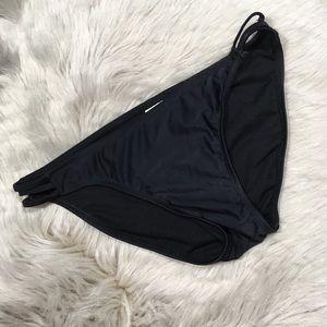 Xhilaration solid back bikini bottoms size L